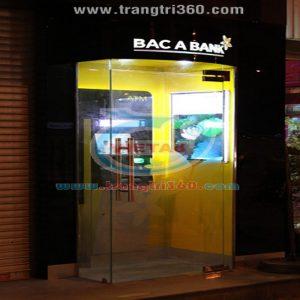 Thi công và lắp đặt booth quảng cáo ATM