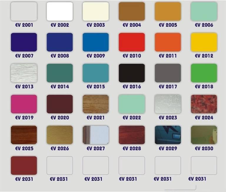 Bảng giá tấm aluminium alcorest trong nhà (PE)