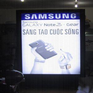 Hộp đèn chuyển hình Samsung 2013