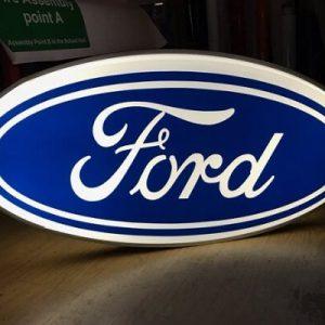 Làm Logo Ford Ép Nổi 3D Chất Lượng Cao Đảm Bảo Yêu Cầu