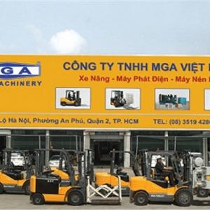 Thi Công Mặt Dựng Aluminium MGA Forklift Chuẩn Chất Lượng