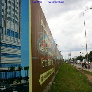 Thiết kế – Thi công hàng rào công trình