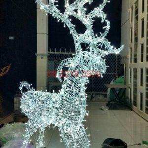Mô Hình Tuần Lộc Trang Trí Noel 2019
