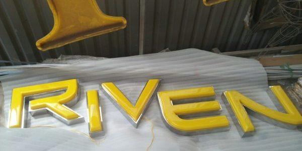 Chữ Nổi Hưỡng Dẫn Làm Chữ 3D Nổi | Chữ 3D Nổi inox | Chữ Nổi Mica