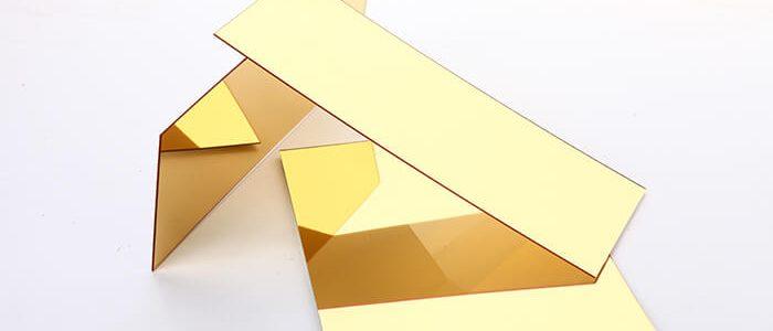 Bảng báo giá tấm inox Vàng gương