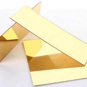 Bảng Báo Giá Chữ Inox Vàng Gương