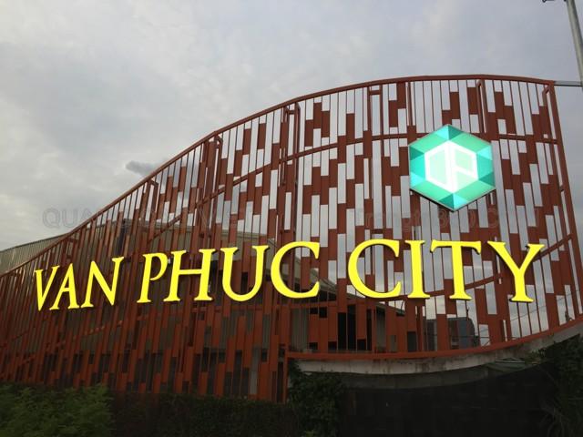 Chữ nổi dự án bất động sản Vạn Phúc city