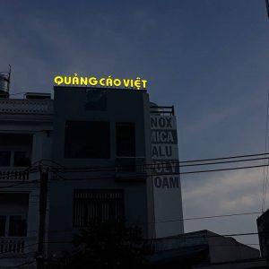 Chữ nổi tòa nhà | Quảng Cáo Việt