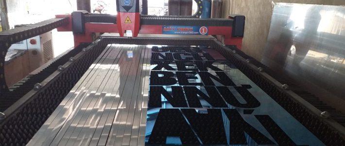 Gia công cắt chữ nổi inox Đồng Nai