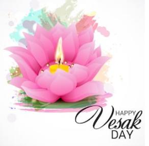 Vesak day poster