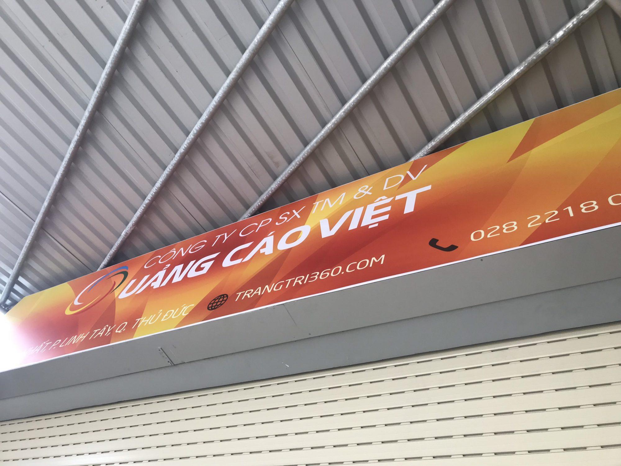 Hộp đèn quảng cáo 3M