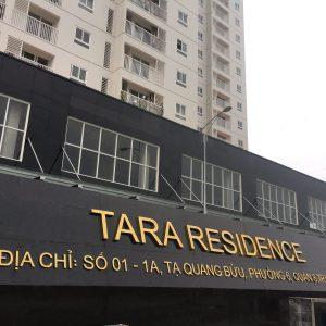 Chữ nổi tòa nhà chung cư bắt mắt, sang trọng, giá rẻ tại tp.Hcm