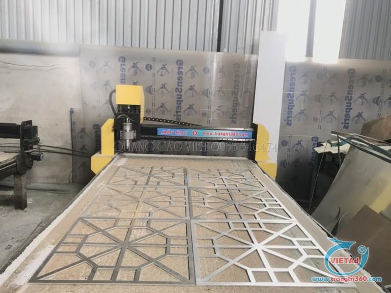 Xưởng cắt CNC nhôm