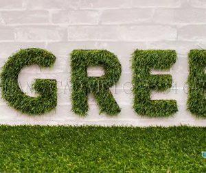 Mẫu Bảng hiệu cỏ nhân tạo đẹp 2020 | Xu hướng bảng hiệu xanh