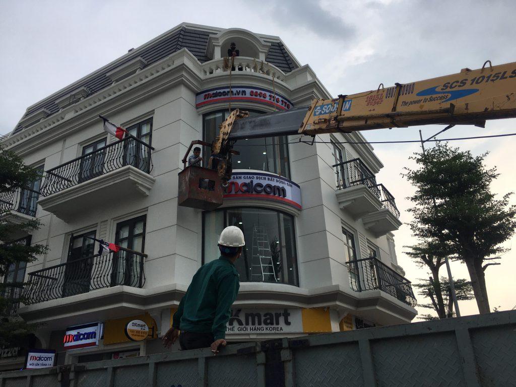 Nhà thầu bảng hiệu dự án quảng cáo - Quảng Cáo Việt