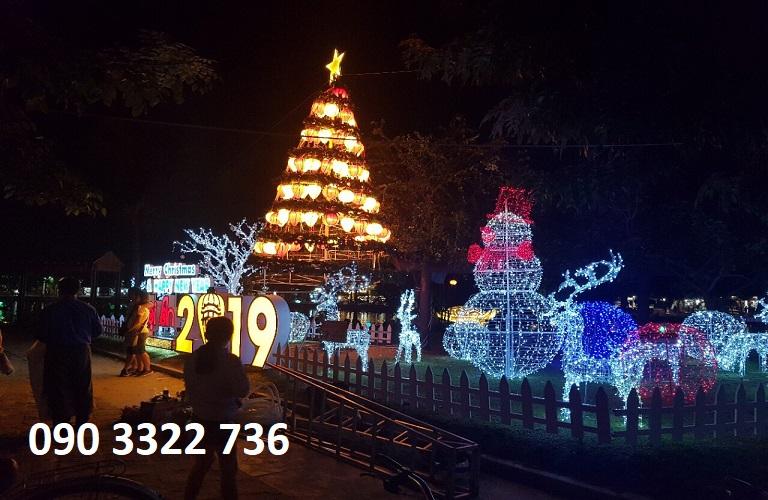 Tiểu cảnh Noel 2019