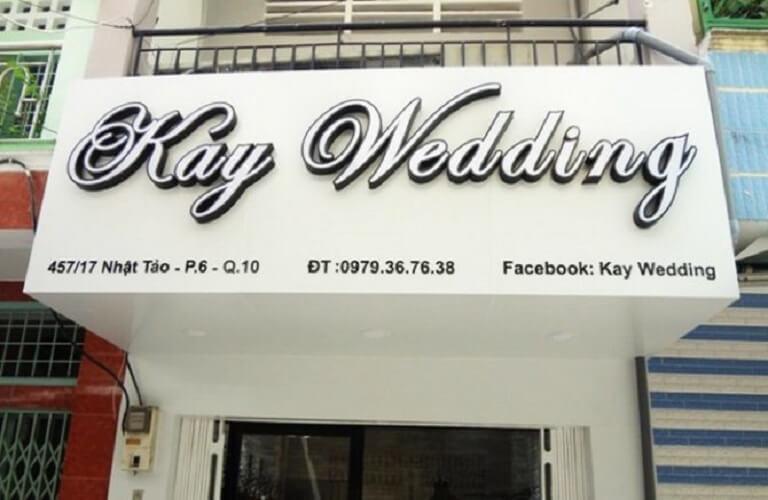 Bảng hiệu Studio áo cưới