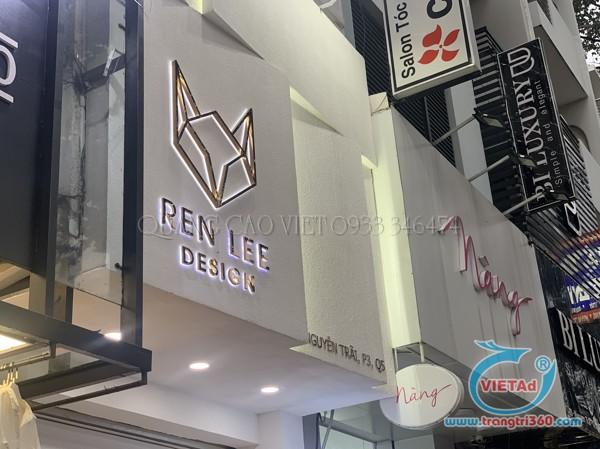 Gia công sản xuất lắp đặt bảng hiệu chữ nổi tại Quảng Cáo Việt
