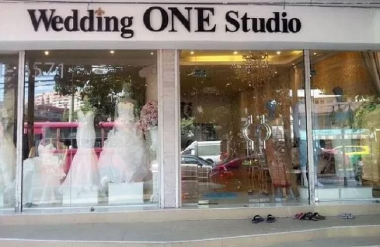 Biển hiệu chữ nổi cho Studio áo cưới