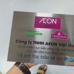 Nhận In UV Trên Inox Chất Lượng Giá Rẻ Đúng Theo Yêu Cầu